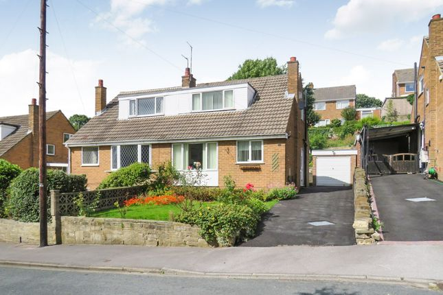 Thumbnail Semi-detached bungalow for sale in Hough End Garth, Bramley, Leeds