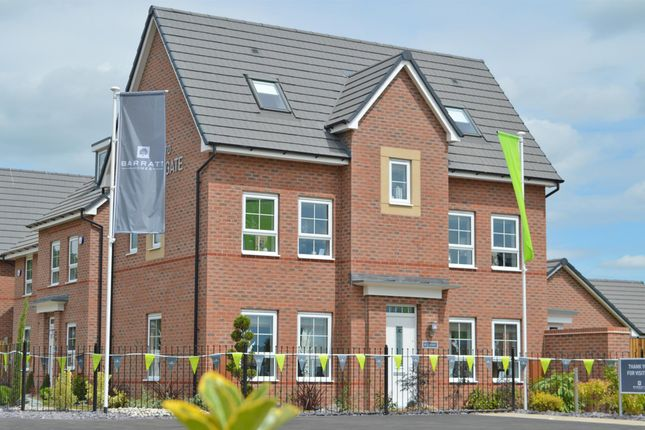 "Thumbnail Semi-detached house for sale in ""Hexham"" at Station Road, Methley, Leeds"