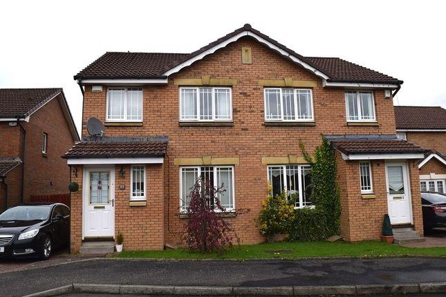 Thumbnail Semi-detached house for sale in 3, Ashwood, Netherton, Wishaw, North Lanarkshire