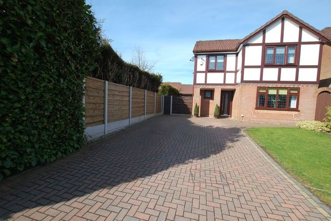Thumbnail Detached house for sale in Okehampton Close, Radcliffe, Manchester