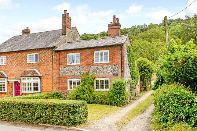 Thumbnail End terrace house for sale in Stonor, Henley-On-Thames, Oxfordshire