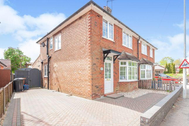 Thumbnail Semi-detached house for sale in Fishers Green Road, Stevenage