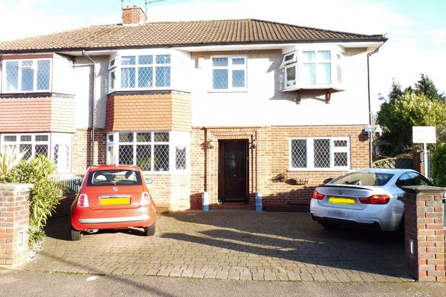 Thumbnail Semi-detached house for sale in Trafalgar Avenue, Broxbourne