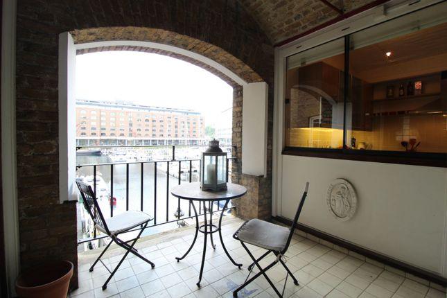 Balcony of St Katherine Docks, London E1W