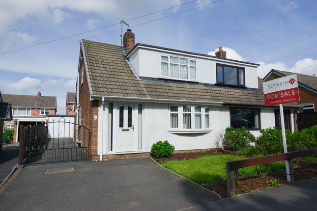 Thumbnail Semi-detached bungalow for sale in Rother Avenue, Brimington, Chesterfield