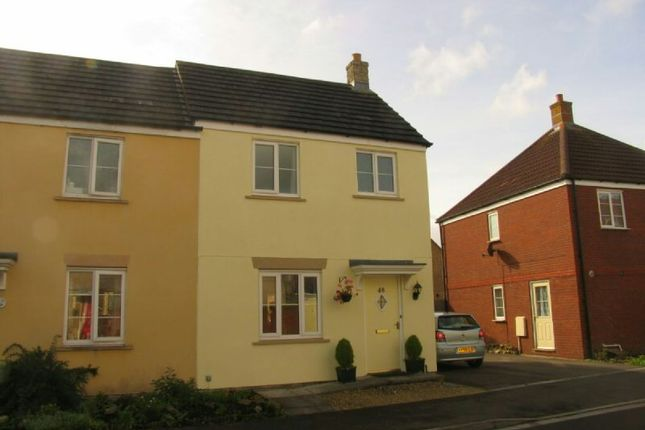 Thumbnail End terrace house to rent in The Badgers, St. Georges, Weston-Super-Mare
