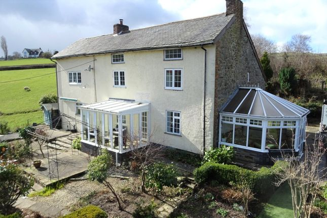 Thumbnail Detached house for sale in Mochdre, Newtown, Powys