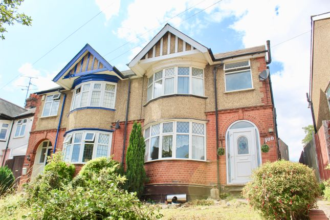 Thumbnail Semi-detached house to rent in Seymour Road, Luton