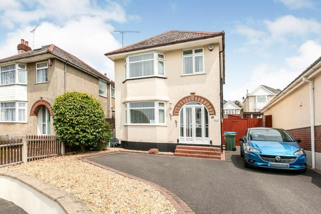 Thumbnail Detached house for sale in Playfields Drive, Parkstone, Poole