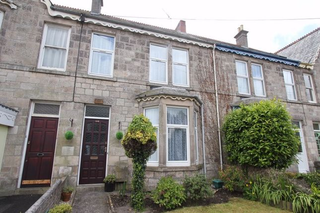 Thumbnail Terraced house to rent in Alexandra Road, St Austell, Cornwall