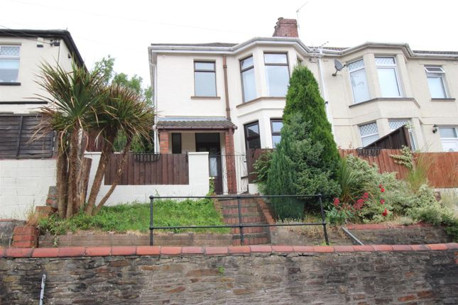 Thumbnail Semi-detached house to rent in Tynewydd Terrace, Newbridge, Newport