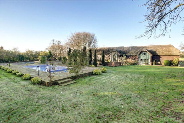 Thumbnail Barn conversion for sale in Stanton St. Bernard, Marlborough, Wiltshire