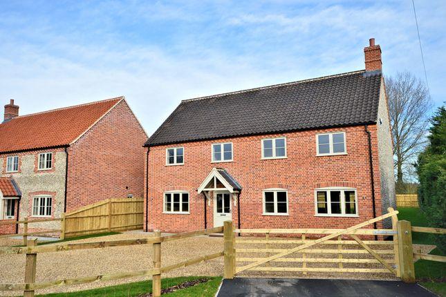 Thumbnail Detached house for sale in Wood Norton Road, Stibbard, Fakenham