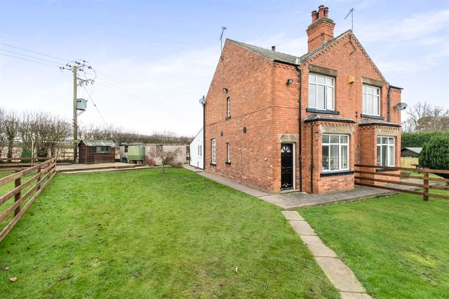 Thumbnail Semi-detached house for sale in New Cottages, Babworth, Retford
