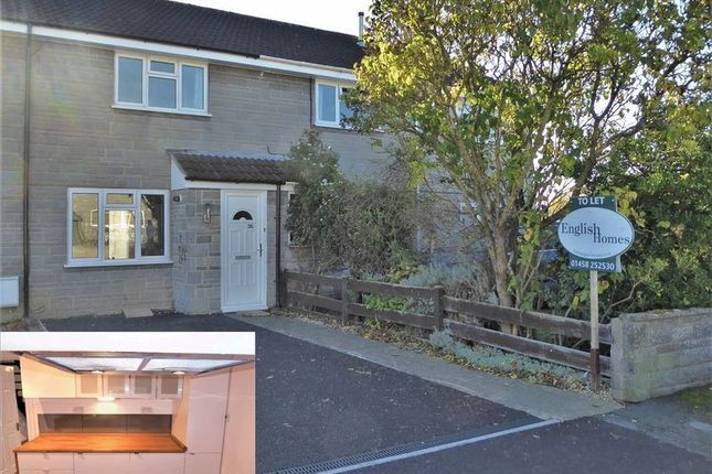 Thumbnail Terraced house to rent in Barrymore Close, Huish Episcopi, Langport