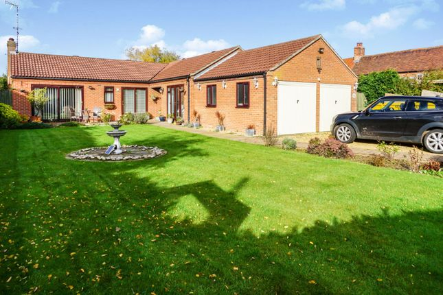 Thumbnail Detached bungalow for sale in Water Lane, Oxton, Southwell