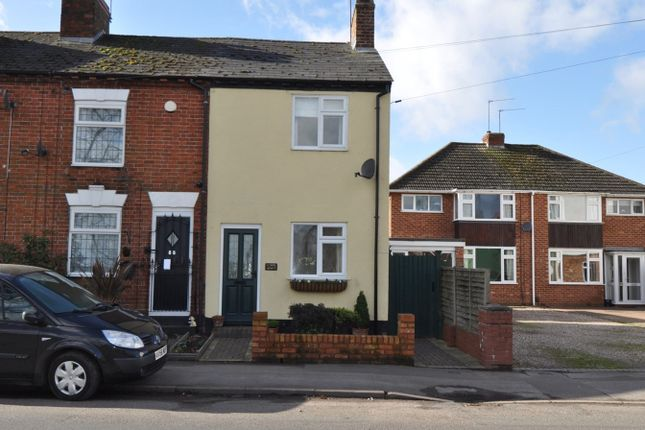 Thumbnail End terrace house to rent in Alcester Road, Studley