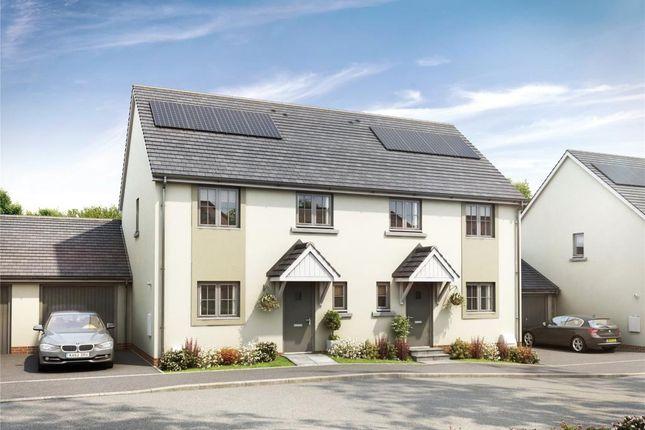 Thumbnail Semi-detached house for sale in Cornwood Chase, Ivybridge, Devon