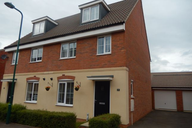 3 bed semi-detached house for sale in Nairn Drive, Orton Northgate, Peterborough