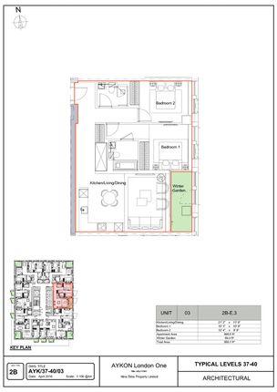 Thumbnail Property for sale in Nine Elms, London