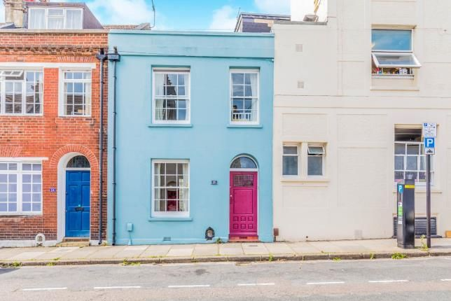 Thumbnail Terraced house for sale in Guildford Street, Brighton, East Sussex