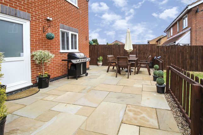 Patio Area of Devitt Way, Broughton Astley, Leicester, Leicestershire LE9