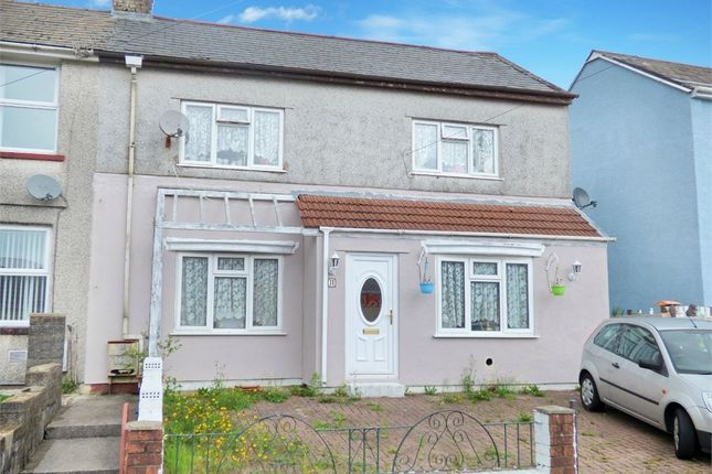Thumbnail Semi-detached house for sale in Heol Heulog, Evanstown, Gilfach Goch, Porth, Mid Glamorgan