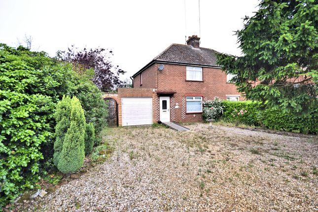Thumbnail Semi-detached house for sale in Marshside, Brancaster, King's Lynn