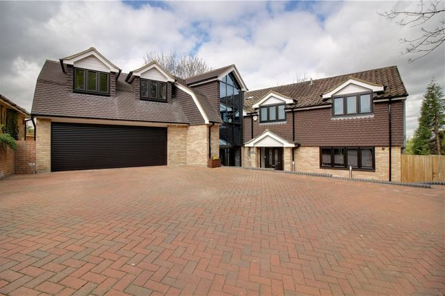 Thumbnail Detached house for sale in Quennells Hill, Wrecclesham, Farnham, Surrey