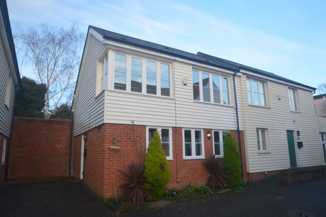 Thumbnail Terraced house to rent in High Street, Ewell Village, Surrey