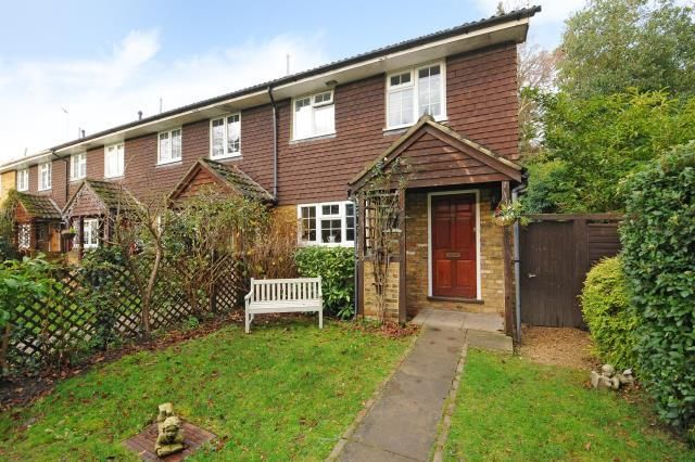 Thumbnail End terrace house for sale in Windlesham, Surrey
