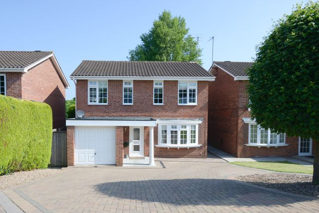 Thumbnail 4 bed detached house for sale in Gleneagles Close, Walton, Chesterfield