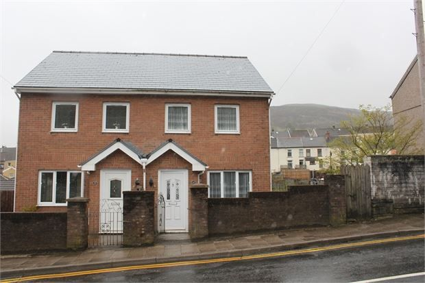 Thumbnail Semi-detached house for sale in Penygraig Road, Penygraig, Rhondda Cynon Taff.