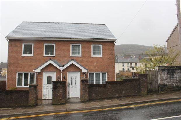 Thumbnail Semi-detached house for sale in Penygraig Road, Penygraig, Rhondda Cynon Taff.