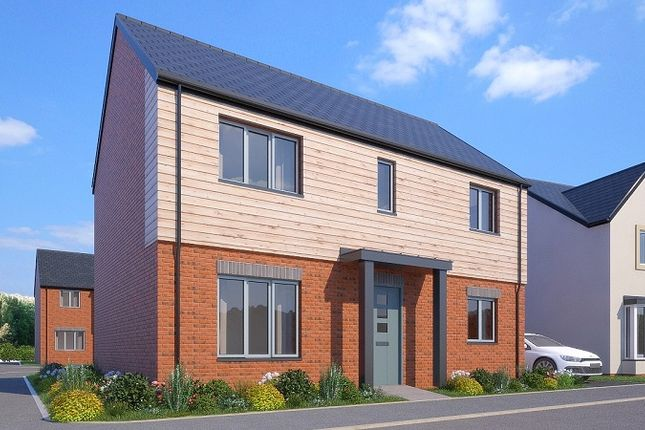 Thumbnail Detached house for sale in The Walden, Greenspire, Clyst St Mary, Exeter, Devon
