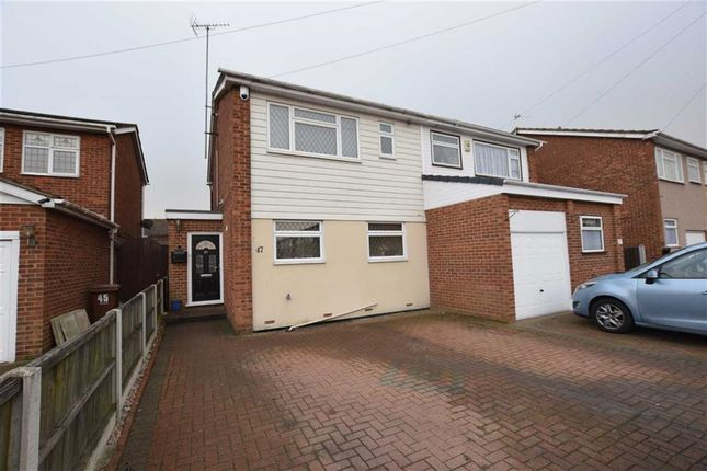 Thumbnail Semi-detached house for sale in Gideons Way, Stanford-Le-Hope, Essex