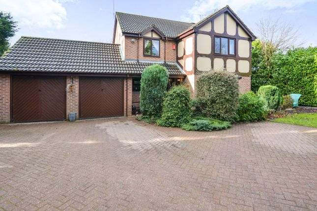 Thumbnail Detached house for sale in Glebe Court, Stoke-On-Trent, Staffordshire