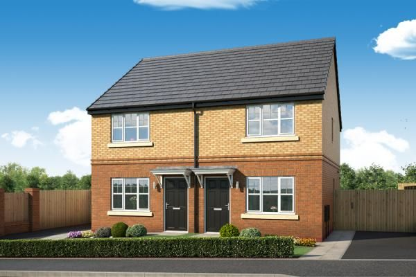 "Thumbnail Property for sale in ""The Haxby At The Woodlands "" at Newbury Road, Skelmersdale"