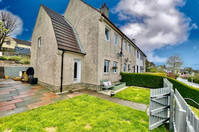 Thumbnail End terrace house for sale in Braehead, Lochwinnoch