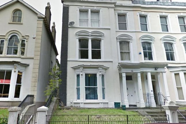 Thumbnail Flat to rent in St James Crescent, Uplands, Swansea