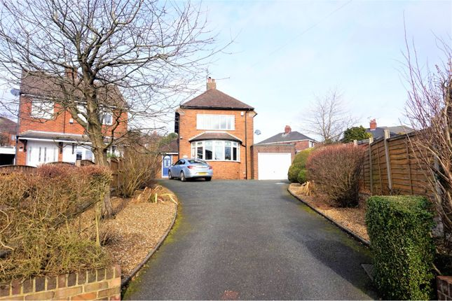 Thumbnail Detached house for sale in Edwal Road, Weston Coyney, Stoke-On-Trent