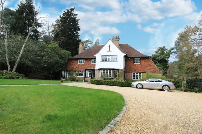 Thumbnail Detached house to rent in Green Lane, Chilworth, Southampton