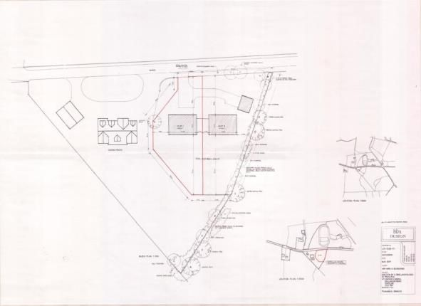 Site Plan of Falkirk FK2
