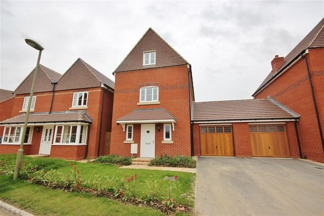 Thumbnail Link-detached house to rent in Whittington Crescent, Wantage