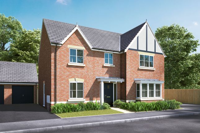 """Thumbnail Detached house for sale in """"The Cottingham"""" at Pamington, Tewkesbury"""