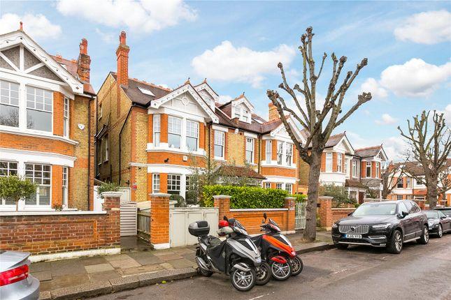Thumbnail Semi-detached house for sale in Kitson Road, Barnes, London