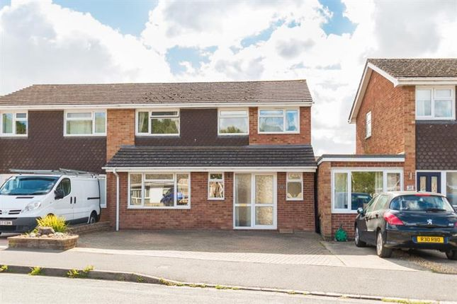 Thumbnail Semi-detached house for sale in Blandy Avenue, Southmoor, Abingdon