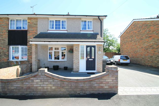 Thumbnail Semi-detached house to rent in Godman Road, Grays, Essex