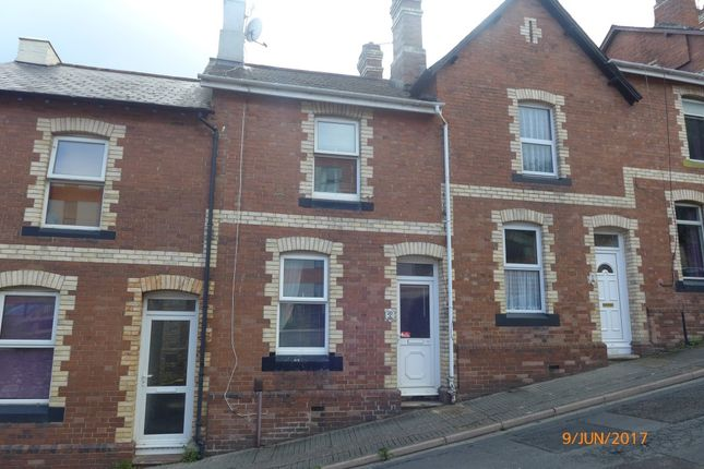Thumbnail Terraced house to rent in Western Road, Newton Abbot