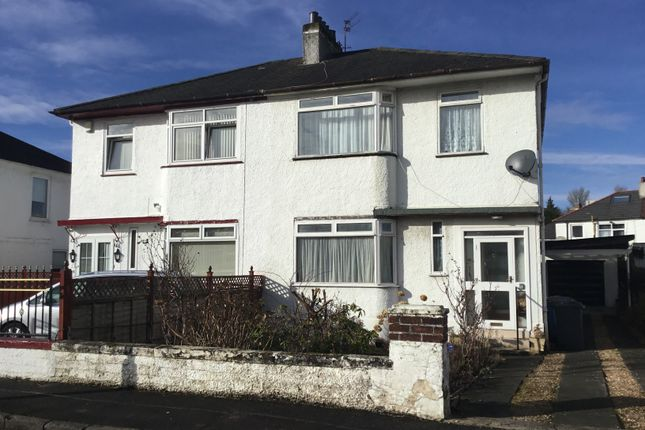 Thumbnail Semi-detached house for sale in 3 Merrylee Crescent, Giffnock
